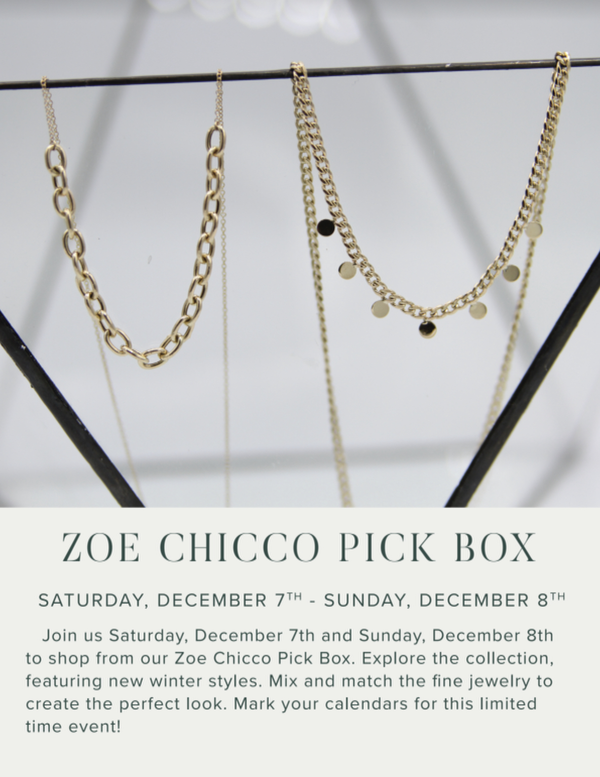 Zoe Chico Pick Box