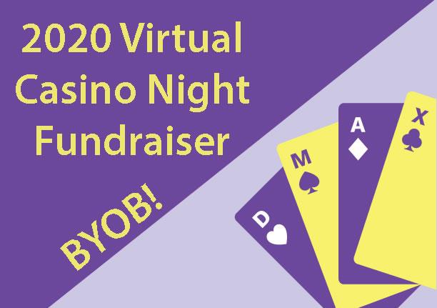 Virtual Casino Night 2020 Marketing/Media